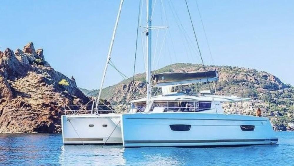 Location Catamaran à Cannes - Helia 44