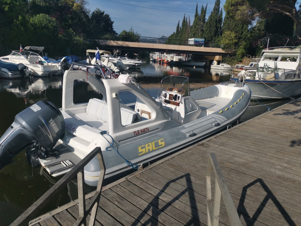 Bootverhuur Sacs Sacs S 25 Dream in Mandelieu-la-Napoule via SamBoat