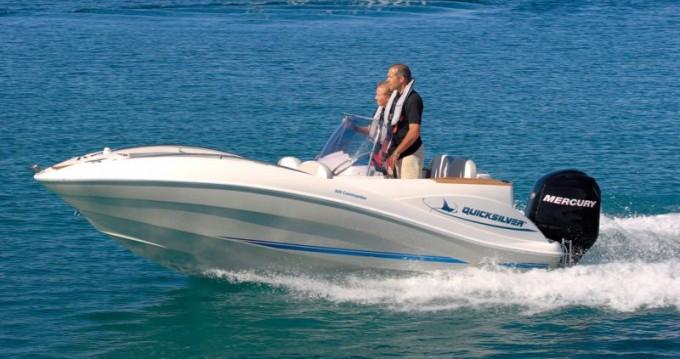 Location bateau Quicksilver Quicksilver 505 Commander à Aix-les-Bains sur Samboat