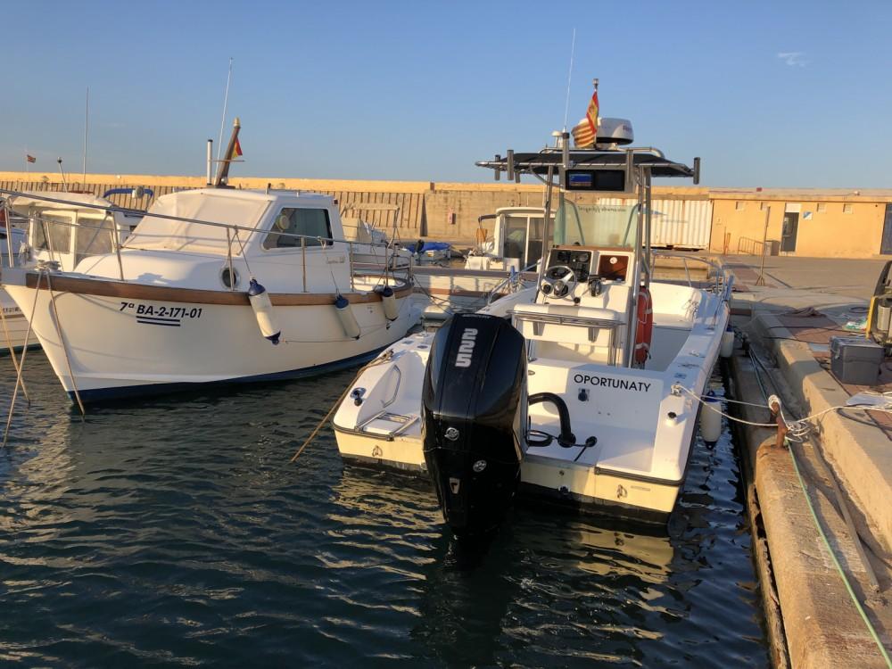 Location Bateau à moteur Fishing avec permis