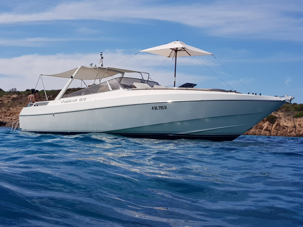 Motor boat for rent Porto San Paolo at the best price