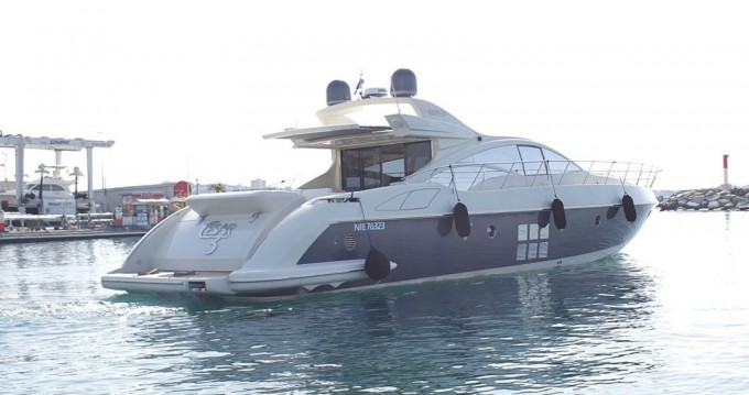 Location yacht à Fréjus - Azimut 68S sur SamBoat