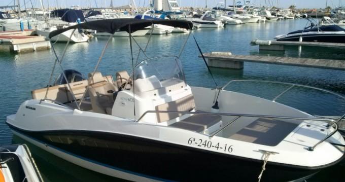 Location bateau L'Estaque pas cher Activ 605 Open