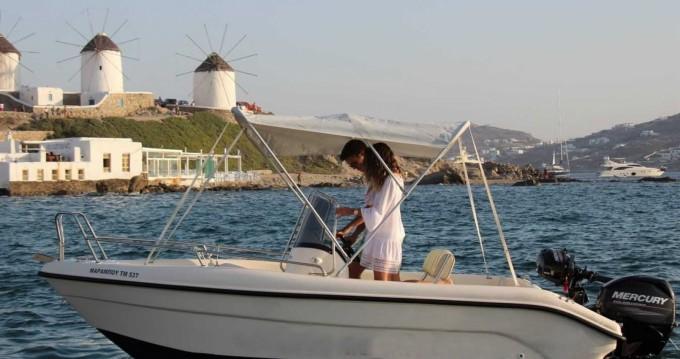 Bateau à moteur à louer à Mykonos (Île) au meilleur prix