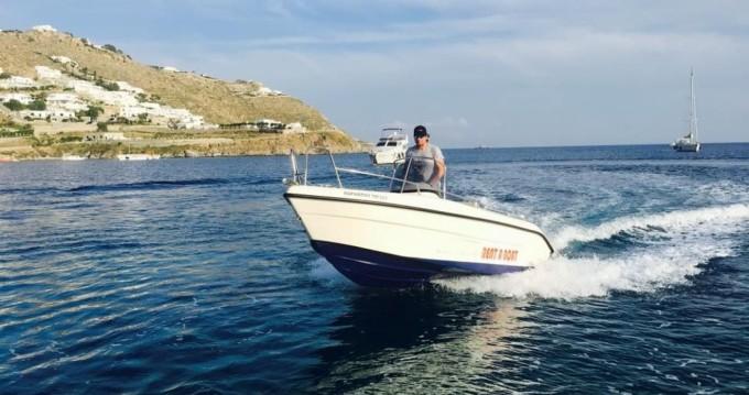 Location bateau Mykonos (Île) pas cher Blu Water