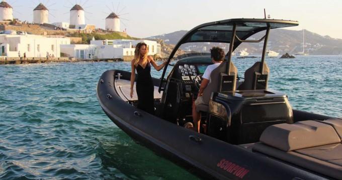 Location bateau Scorpion Scorpion à Mykonos (Île) sur Samboat