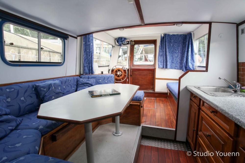 Verhuur Woonboot in La Roche-Bernard - Jeanneau vert d'eau