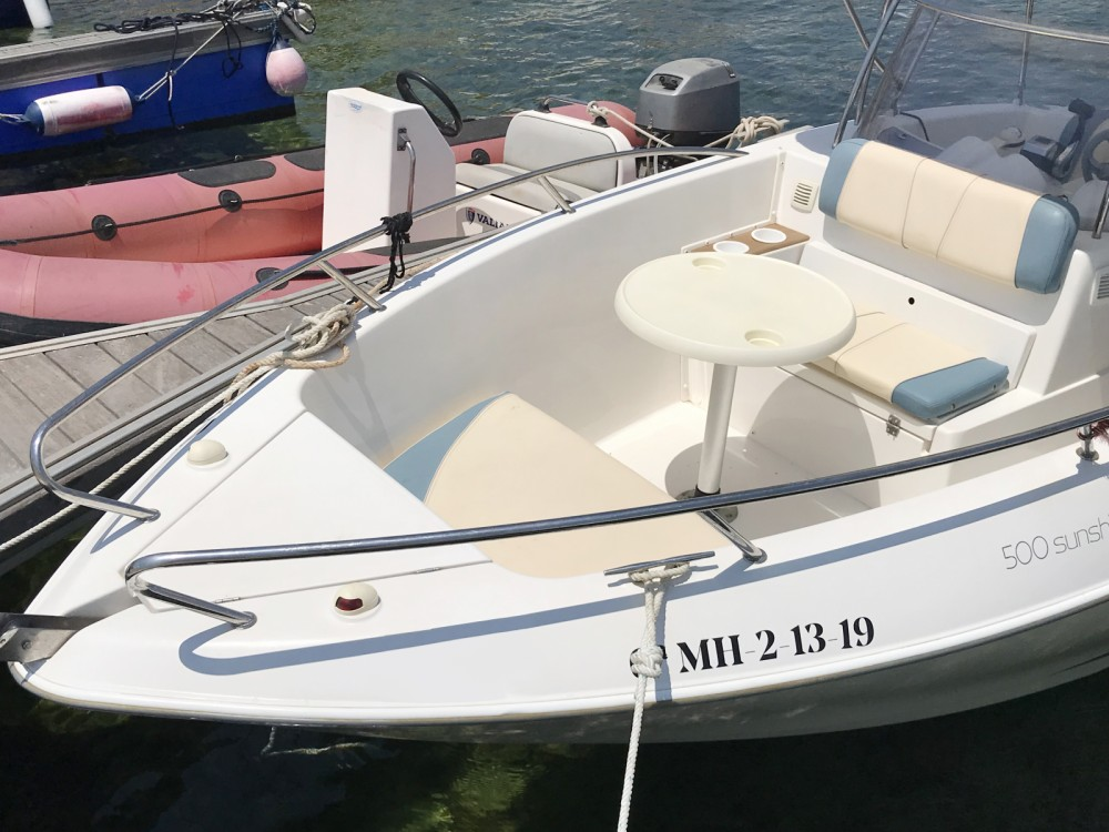 Boat rental Es Mercadal cheap passport 500 Sunshine
