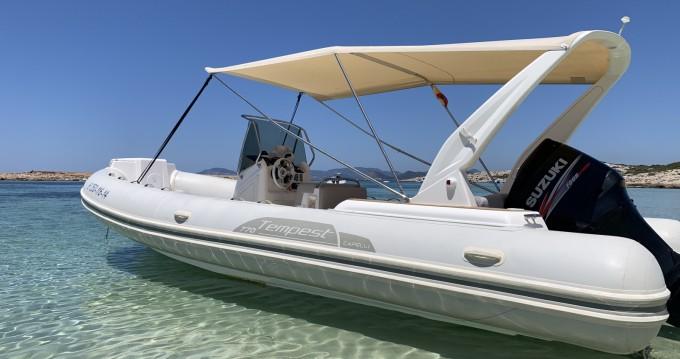 Louer Semi-rigide avec ou sans skipper Capelli à Santa Eulària des Riu