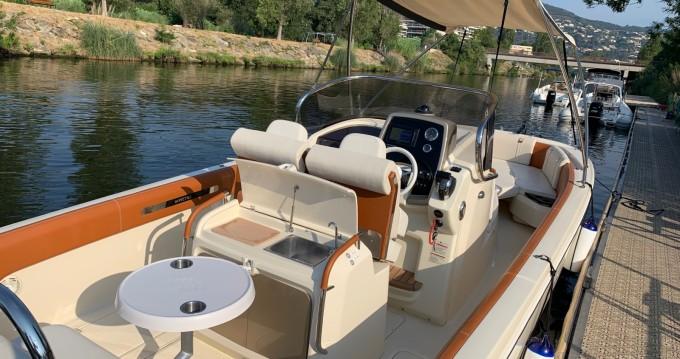 Location bateau Mandelieu-la-Napoule pas cher FX 270