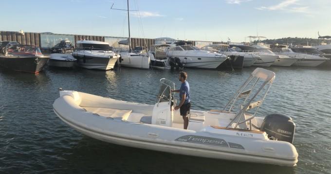Location yacht à Sainte-Maxime - Capelli Tempest 626 sur SamBoat