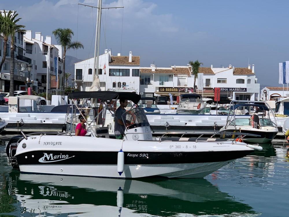 Alquiler Lancha en Marbella - Marino Keope