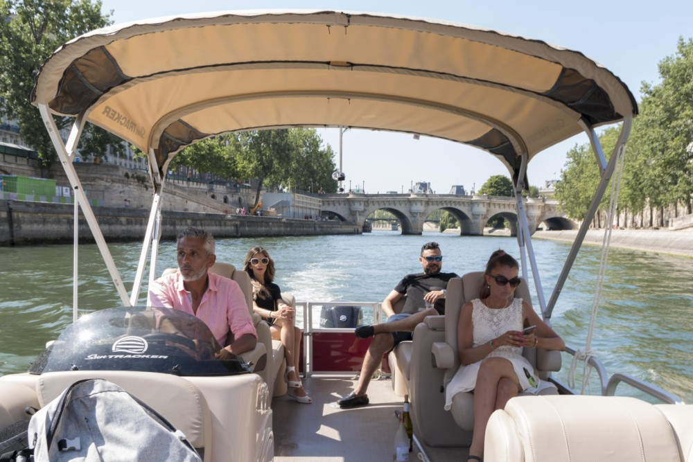 Yacht-Charter in Paris - Suntracker Party Barge 24 auf SamBoat