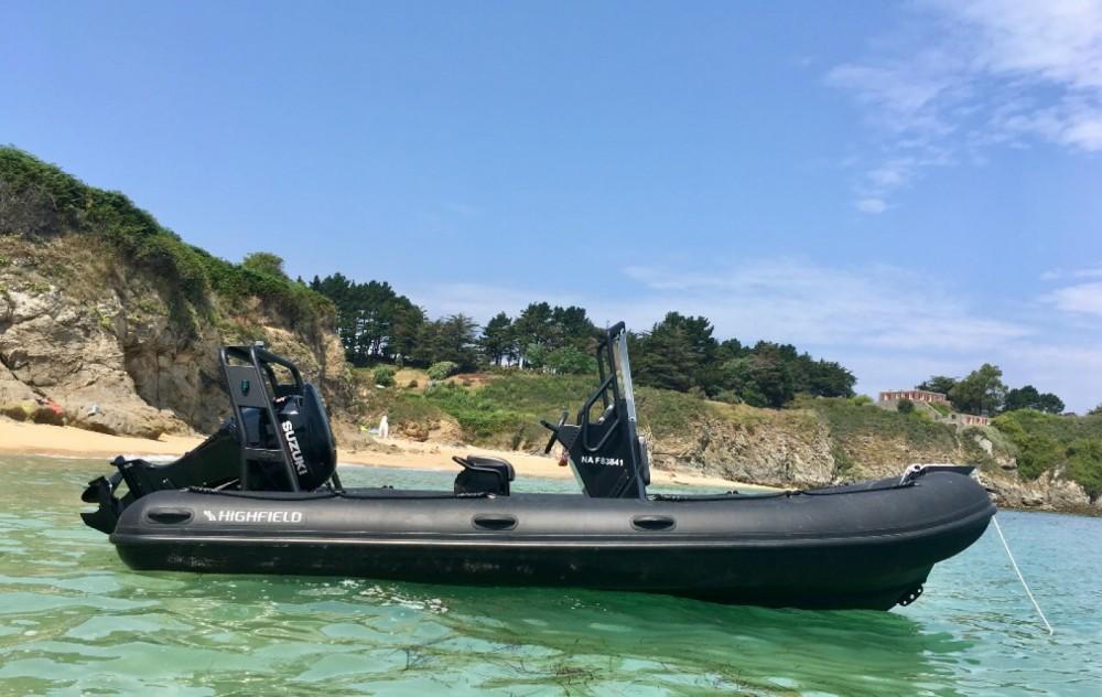 Rental yacht Le Palais - Highfield Ocean Master 540 on SamBoat