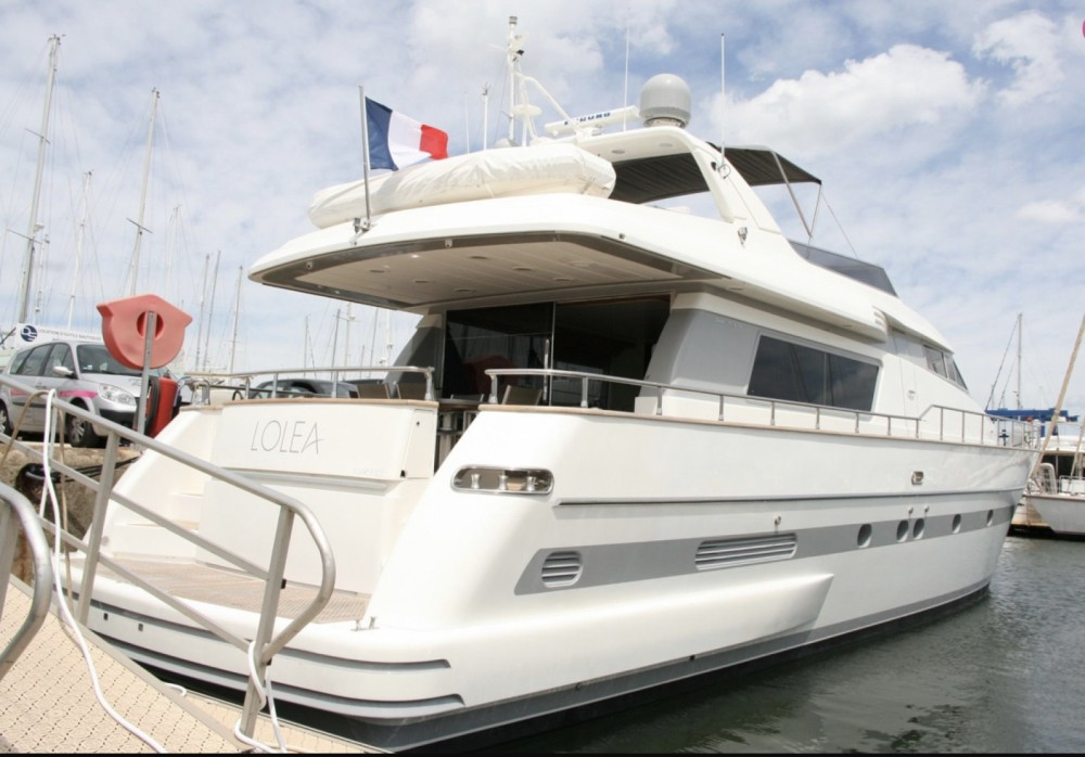 Hire Yacht with or without skipper San Lorenzo Cannes