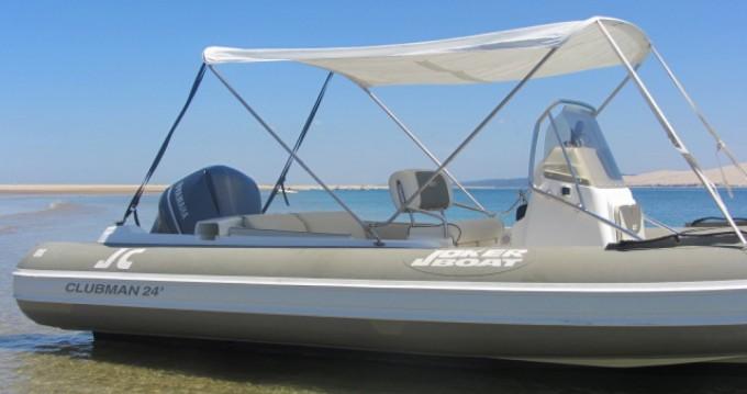 Location Semi-rigide Joker Boat avec permis
