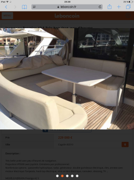Location bateau Saint-Laurent-du-Var pas cher Prestige 42s