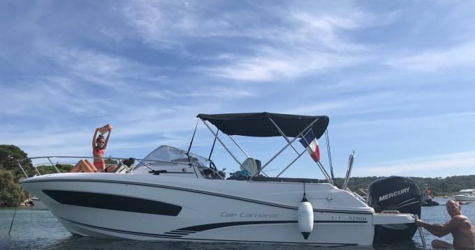 Location Bateau à moteur à Sainte-Maxime - Jeanneau Cap Camarat 7.5 WA Serie 2