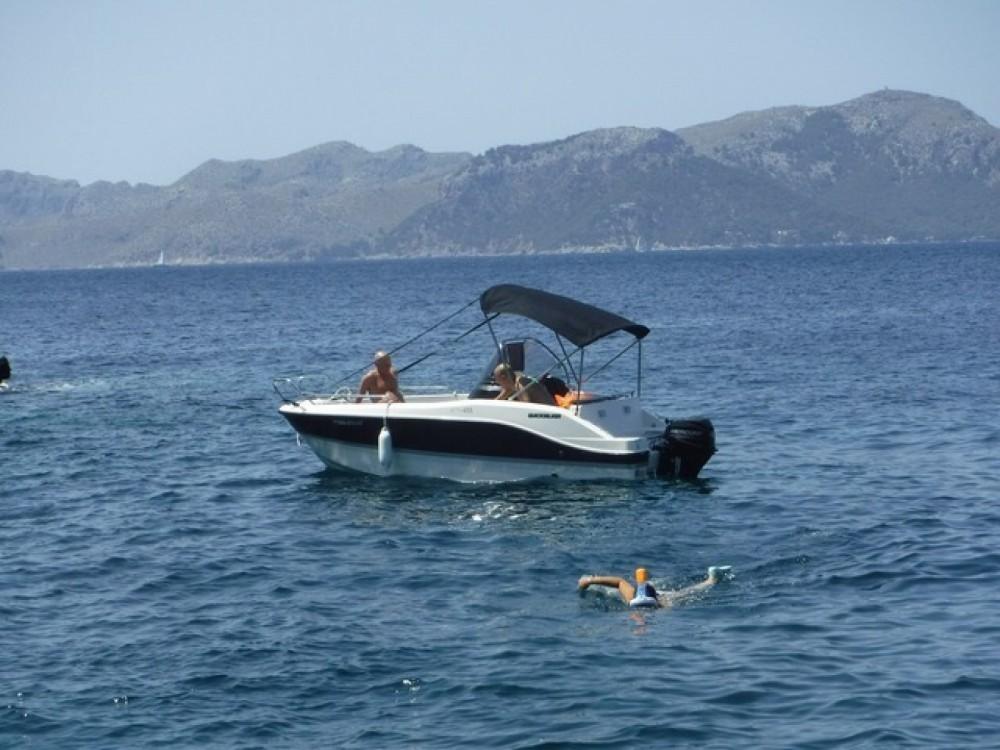 Boat rental Balearic Islands cheap Activ 455 Open