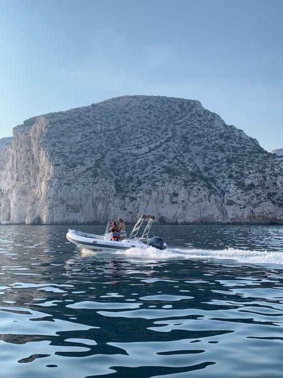 Rental RIB in Marseille - Capelli Tempest 600