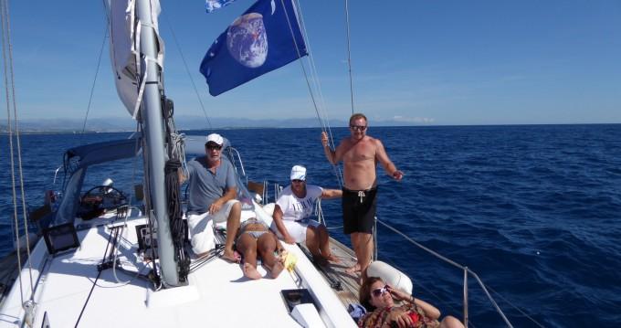 Location bateau Cannes pas cher Oceanis 48