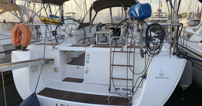 Location bateau Lavrio pas cher Oceanis 46