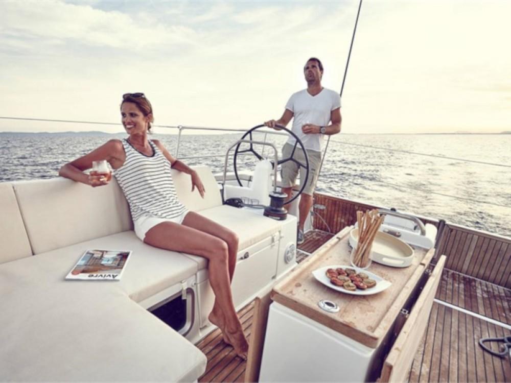 Boat rental Arona cheap Sun Odyssey 490