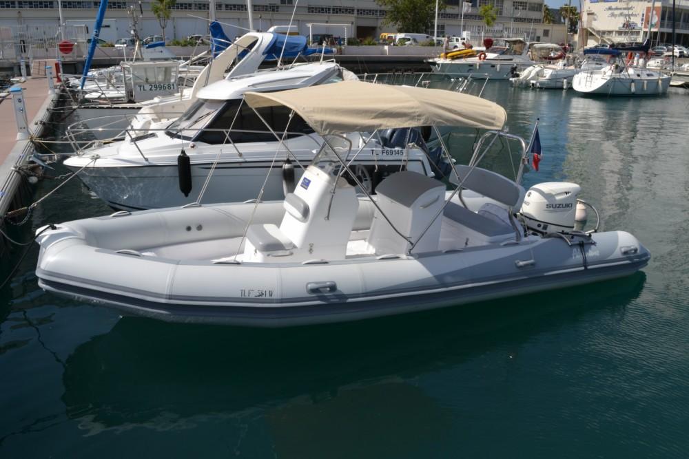 Location bateau Toulon pas cher VESTA 650