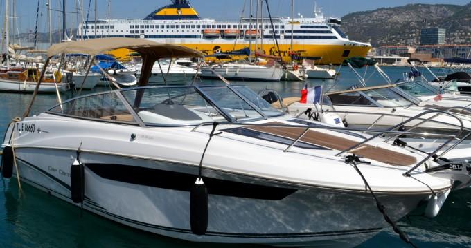 Location bateau Jeanneau Cap Camarat 7.5 DC à Toulon sur Samboat