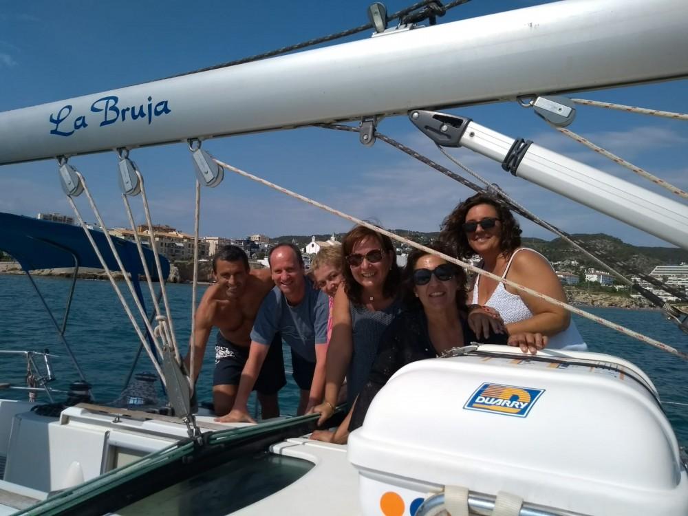 Verhuur Zeilboot in Castelldefels - Bénéteau Oceanis 400