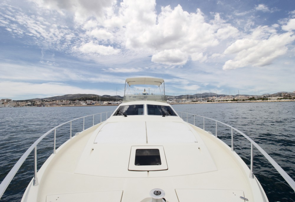 Boat rental Palma cheap Ferretti 175
