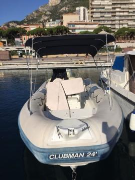 Location bateau Monaco pas cher Clubman 24
