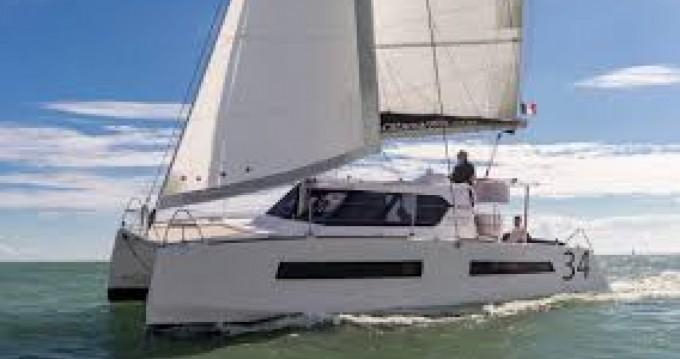 Location bateau Aventura A34 à Port du Crouesty sur Samboat