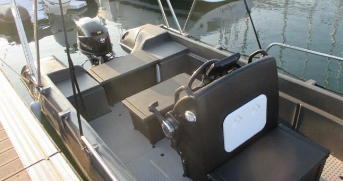 Location bateau Whaly 500 à Arzon sur Samboat
