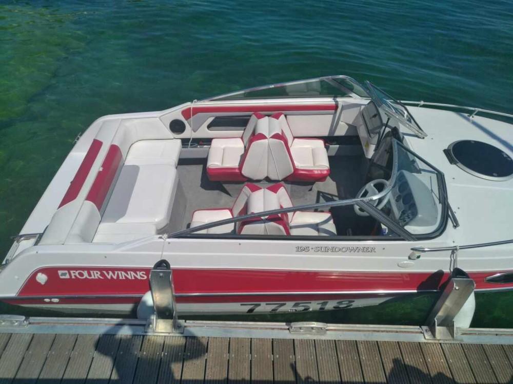 Verhuur Motorboot in Aix-les-Bains - Four Winns Sundowner 195