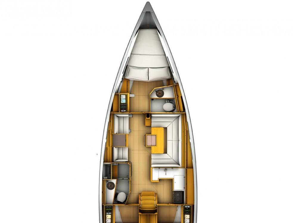 Sailboat for rent ACI Marina Pula at the best price