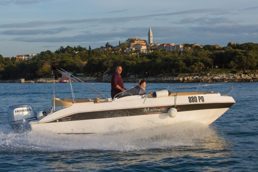 Boat rental Vrsar cheap MARINELLO 22 EDEN OPEN