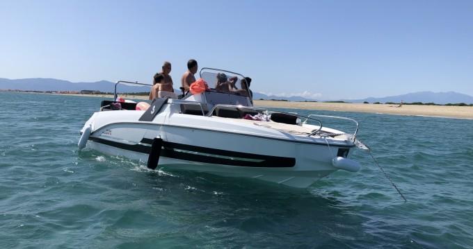 Location bateau Bénéteau Flyer 6.6 SUNdeck à Saint-Cyprien sur Samboat