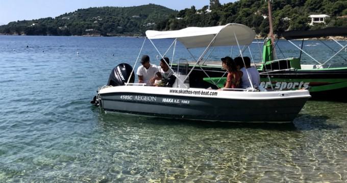 Louer Bateau à moteur avec ou sans skipper Zaggas Marine  à Skiathos