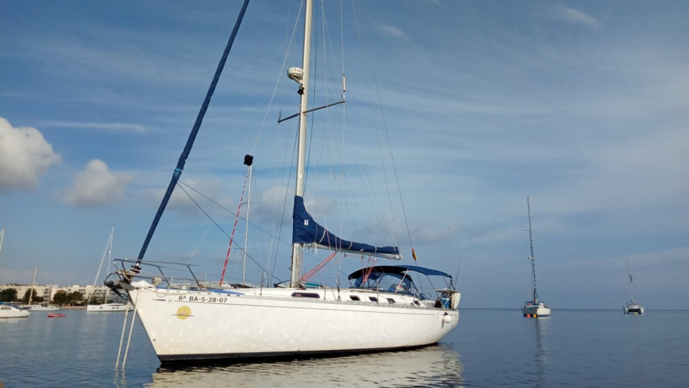 Dufour Dufour 43 Classic between personal and professional Ibiza city