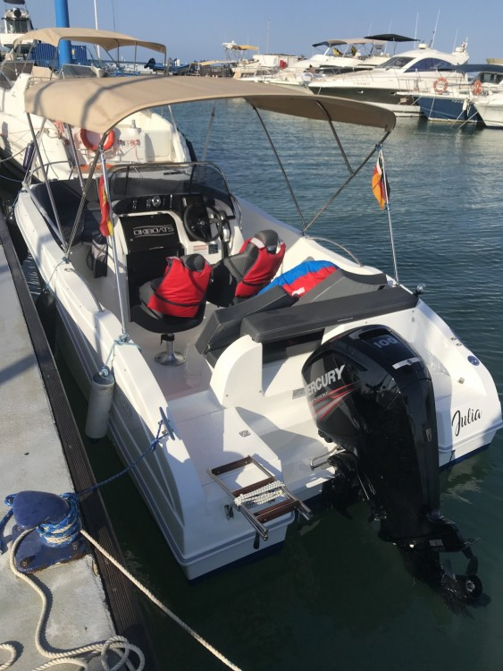Verhuur Motorboot in Los Alcázares - Oki Boats Barracuda 545