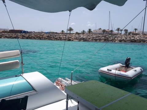 Fountaine Pajot Corneel 26 entre particuliers et professionnel à Formentera