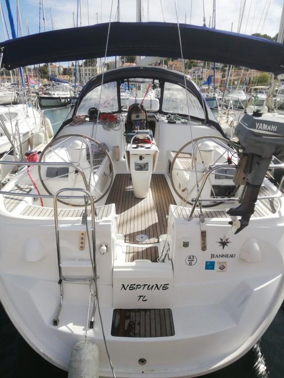 Location bateau Saint-Mandrier-sur-Mer pas cher Sun Odyssey 40.3
