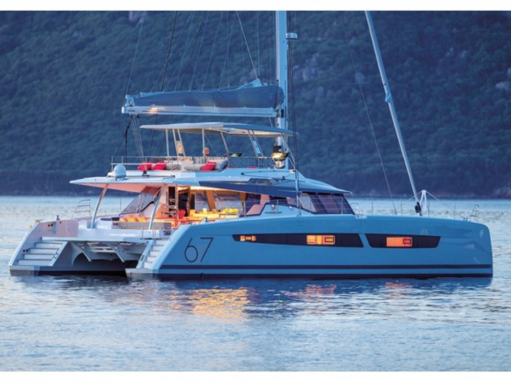 Hire Catamaran with or without skipper Fountaine Pajot Marina de Alimos