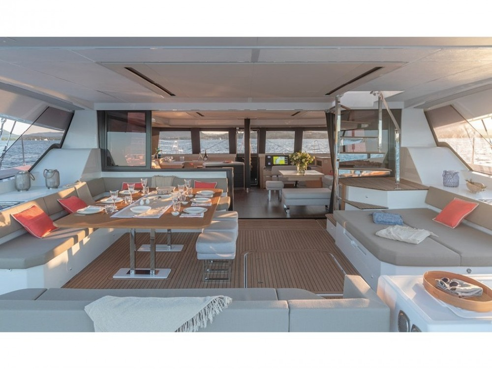 Rental Catamaran in Alimos Marina - Fountaine Pajot Alegria 67