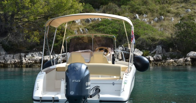 Location bateau Ugljan pas cher Key Largo 20 Deck