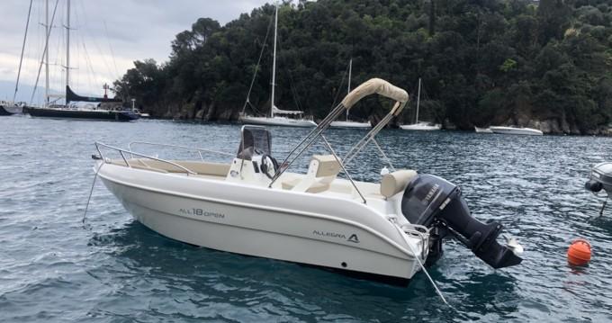 Location bateau Portofino pas cher ALLEGRA 18