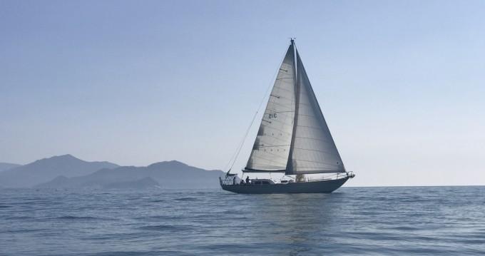 Location yacht à Lavagna - Columbia 50 sur SamBoat
