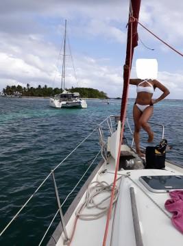 Location bateau Bénéteau Oceanis 411 Clipper à Île Marie-Galante sur Samboat