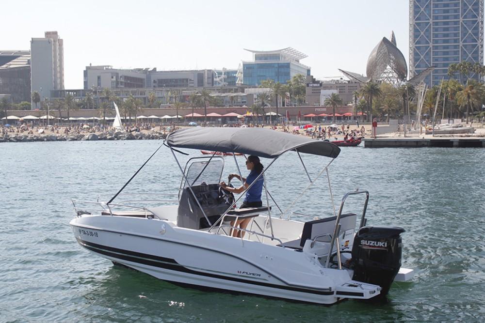 Hire Motor boat with or without skipper Bénéteau Sant Carles de la Ràpita